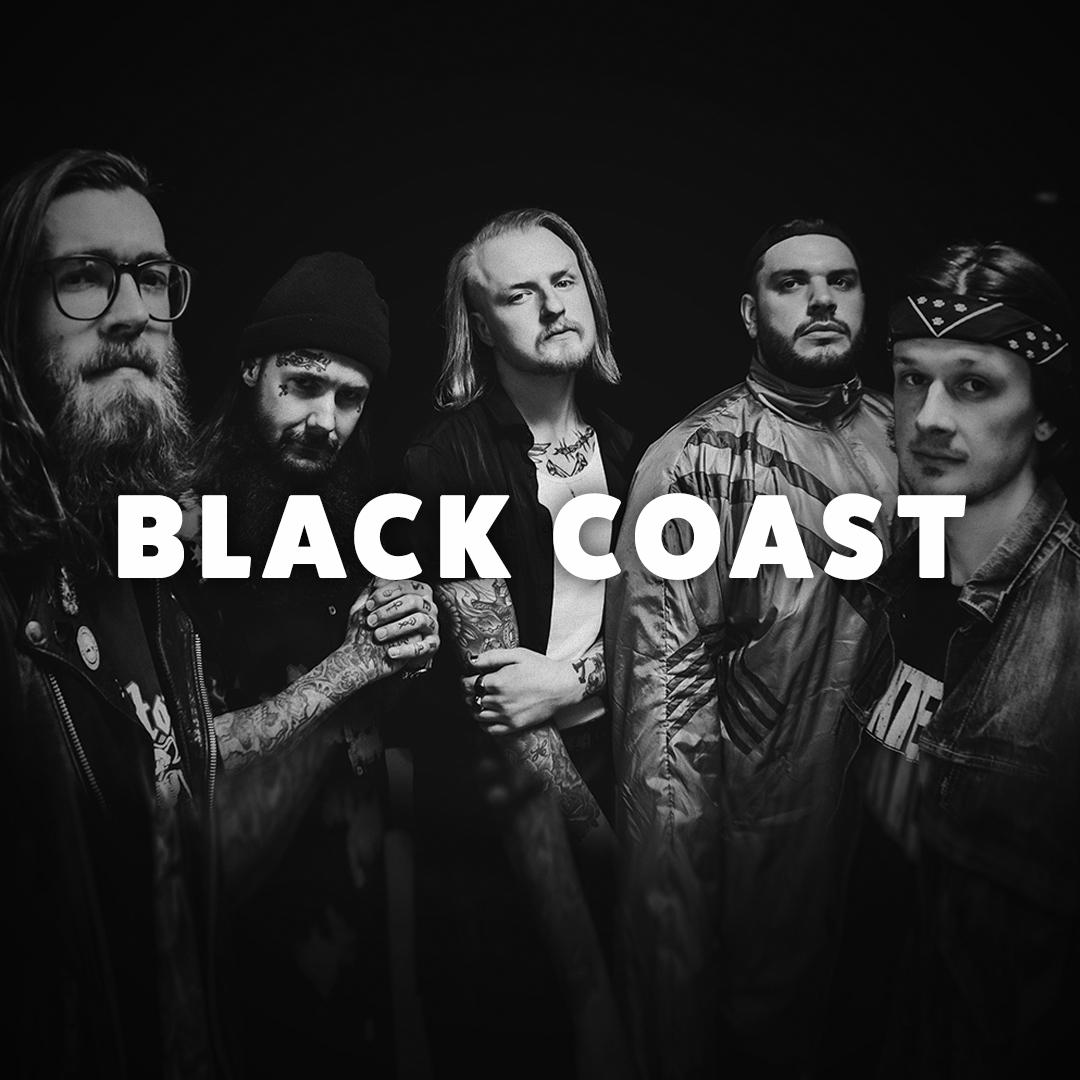 Follow the image link to read more about Black Coast and book them for a show.